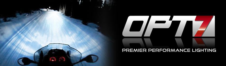 Opt7 Snowmobile Ac Hid Kit H4 9003 Hi Lo 10000k Blue Xenon