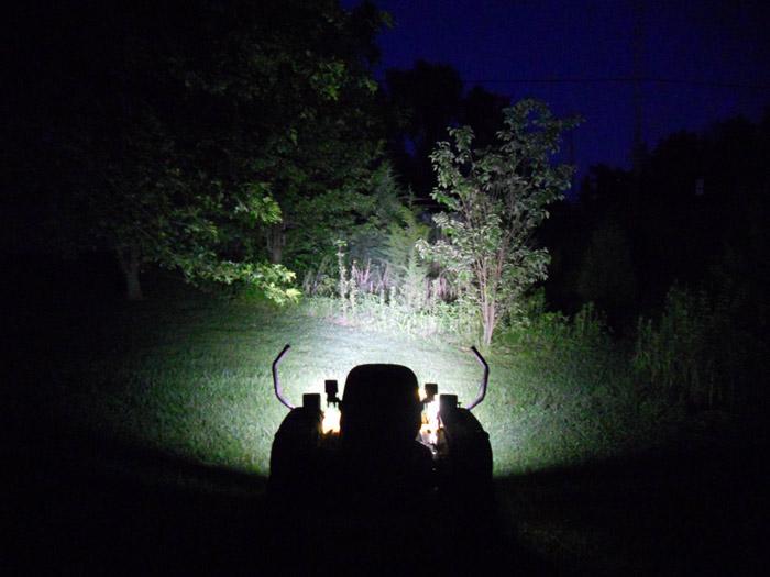 Opt7 2x Off Road Led Spot Light Round 24w Mini 4 Quot Work Atv